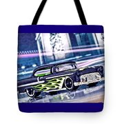 Street Cruiser - American Way Of Drive 4 By Jean-louis Glineur Tote Bag