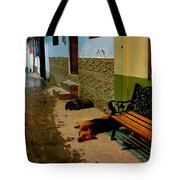Street Dogs Tote Bag