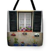 Street Flower Art Tote Bag