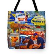 Street Food 5 Tote Bag