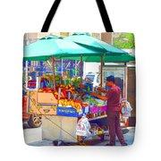 Street Food 6 Tote Bag