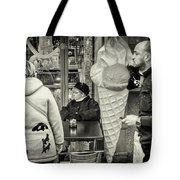 Street Ice Cream Tote Bag