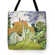 Street In Auvers Sur Oise Tote Bag
