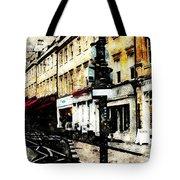 street in Bath Tote Bag by Art Di