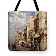 Street In Cairo Tote Bag
