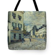 Street In Marly Tote Bag