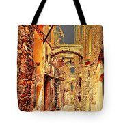 Street In Old Town. Tote Bag
