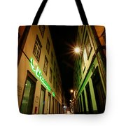 Street In Ponta Delgada Tote Bag