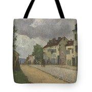 Street In Pontoise Strabe In Pontoise Camille Pissarro Tote Bag