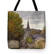 Street In Sainte Adresse Tote Bag