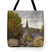 Street In Sainte Adresse Tote Bag