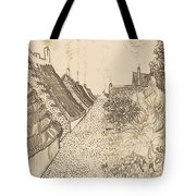 Street In Saintes-maries-de-la-mer Tote Bag