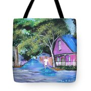Street In St Augustine Tote Bag