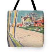 Street In The Bronx Tote Bag