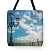 Street Lamp At Venice, Italy Tote Bag