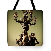 Street Lamp I Tote Bag