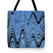 Street Light Abstract Horazontal Tote Bag