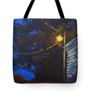 Street Light Nocturne Tote Bag