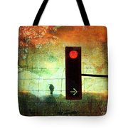 Street Lights And Cold Nights  Tote Bag