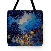 Street Lights Tote Bag