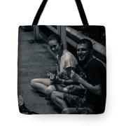 Street Make Music  Tote Bag