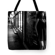 Street Mannequin # 3 Tote Bag