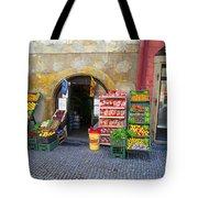 Street Market, Prague Tote Bag