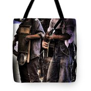 Street Musicians Tote Bag