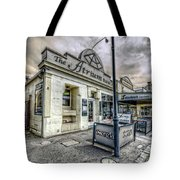 Street Narrative Tote Bag