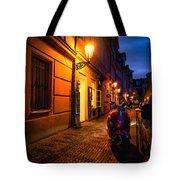 Street Of Prague Tote Bag