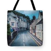 Street Of Summer Countryside Tote Bag by Ariadna De Raadt