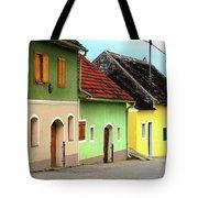 Street Of Wine Cellar Houses  Tote Bag
