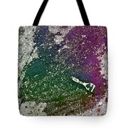 Street Painter Tote Bag