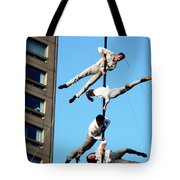 Street Performers 10 Tote Bag