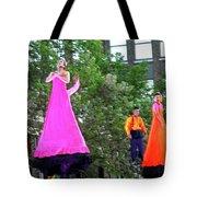 Street Performers 4 Tote Bag
