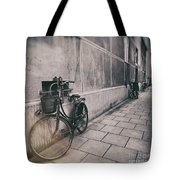 Street Photo Bicycle Tote Bag