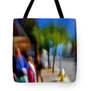 Street Scene Tote Bag