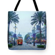 Street Scene, New Orleans Tote Bag
