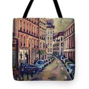 Street Scene Paris 1 Tote Bag