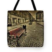 Street Seat Tote Bag