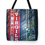 Street Signs Of New York Tote Bag