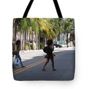 Street Walkers Tote Bag