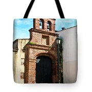 Streetlight Bells And Cross Tote Bag