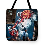 Streets And Art In Colour. Tote Bag