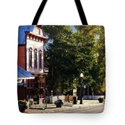 Streets Are Empty Tote Bag
