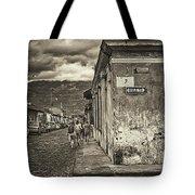 Streets Of Antigua - Guatemala Tote Bag