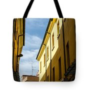 Streets Of Cesena 7 Tote Bag