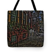 Streets Of Fairmont Tote Bag
