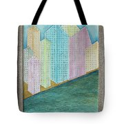 Streets Of Gold Tote Bag