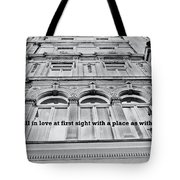 Streets Of London Quote Tote Bag